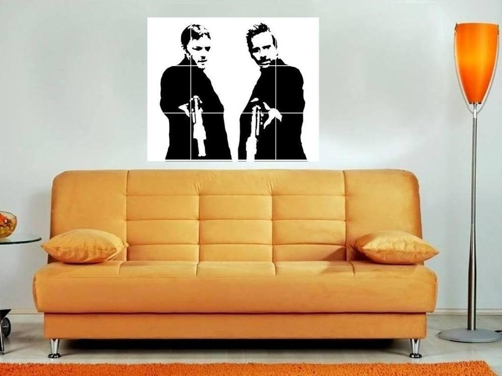 "Boondock Saints B&w 35""x33"" Mosaic Wall Poster 