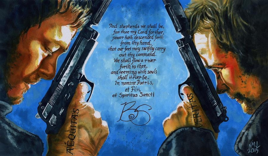 Boondock Saints Paintingken Meyer With Boondock Saints Wall Art (Image 5 of 20)