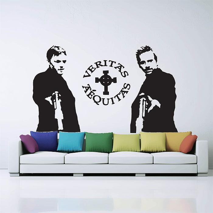 Boondock Saints Vinyl Wall Art Decal In Boondock Saints Wall Art (Image 8 of 20)