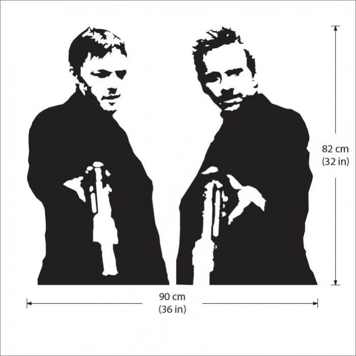 Boondock Saints Vinyl Wall Art Decal With Regard To Boondock Saints Wall Art (Image 9 of 20)