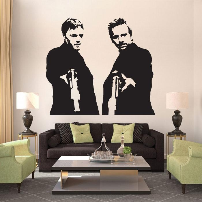 Boondock Saints Vinyl Wall Art Decal Within Boondock Saints Wall Art (Image 10 of 20)