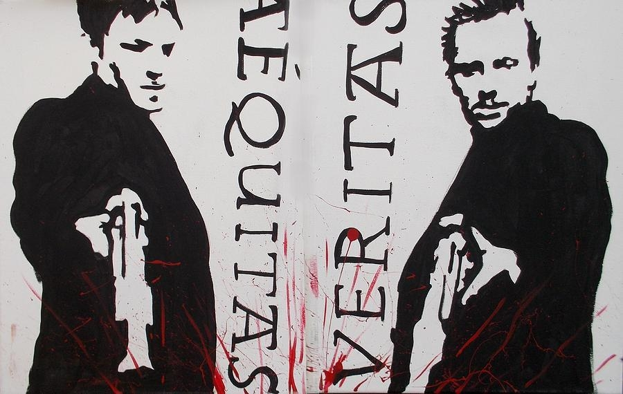 Boondock Saints Whole Paintingmarisela Mungia In Boondock Saints Wall Art (Image 13 of 20)