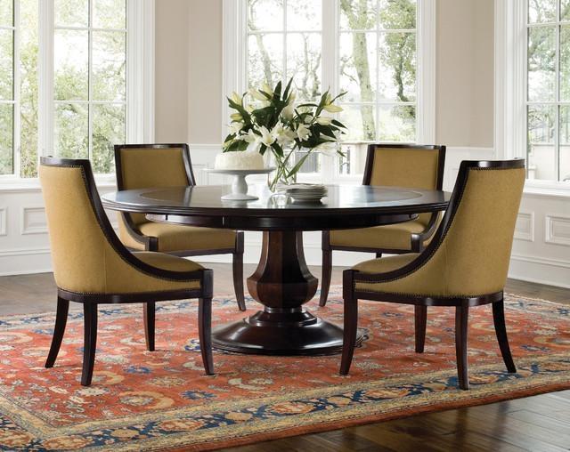 Briliant Tuscany Traditional Formal Dining Room Set Table & Chairs Intended For Current Pedestal Dining Tables And Chairs (Image 12 of 20)