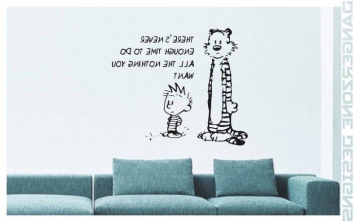 Brilliant Calvin And Hobbes Wall Art | Best Office Chair Blog's Pertaining To Calvin And Hobbes Wall Art (Image 10 of 20)