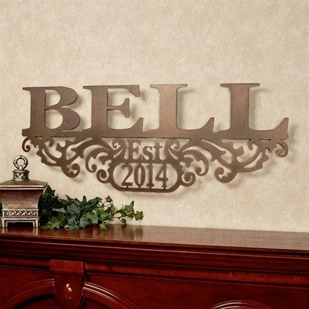 Brilliant Decoration Personalized Wall Art Nice Design Wall Art Regarding Custom Last Name Wall Art (Image 5 of 20)
