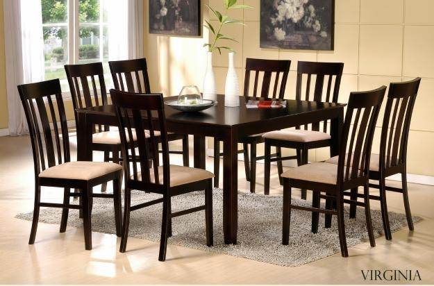 Brilliant Dining Table And Chairs Set With Fancy Beautiful Dining Regarding Newest Dining Tables And Chairs (Image 7 of 20)