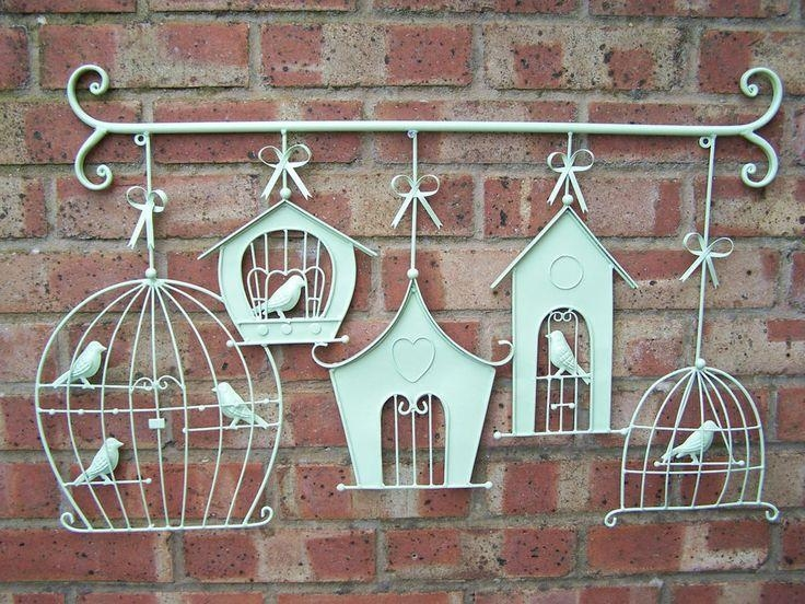 Brilliant Garden Wall Art Metal Large Garden Wall Art Alices Intended For Large Metal Wall Art For Outdoor (Image 6 of 20)