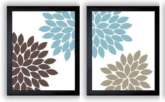 Brilliant Ideas Blue And Brown Wall Art Awesome Design Metal Art For Blue And Brown Wall Art (Image 11 of 20)