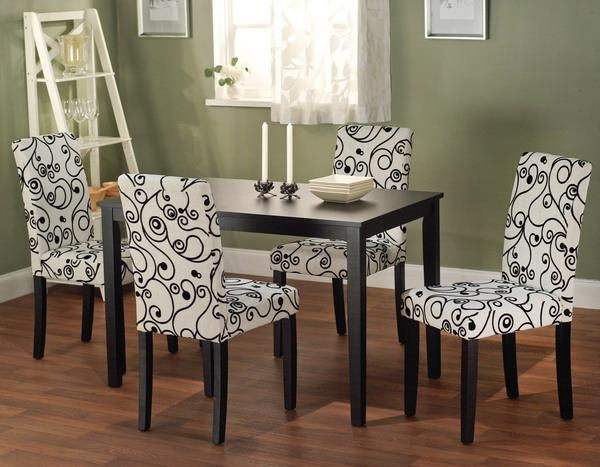 Brilliant Marvelous Upholstered Dining Room Chairs Beautiful With Regard To Latest Fabric Dining Room Chairs (Image 9 of 20)