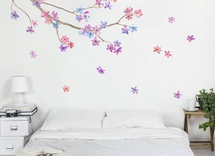 Bring On The Creativity Of Arts With Wall Art Stickers For Your With Gold Wall Art Stickers (Image 6 of 20)