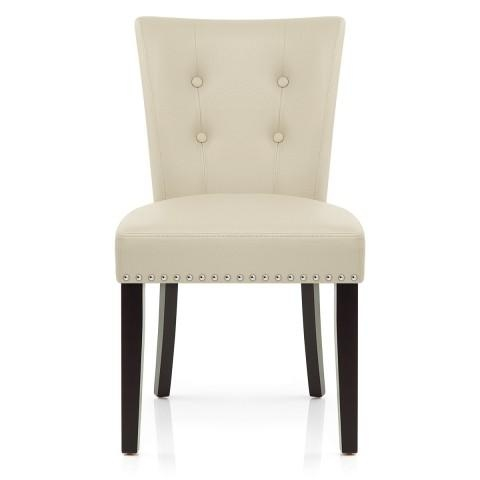Featured Image of Cream Leather Dining Chairs