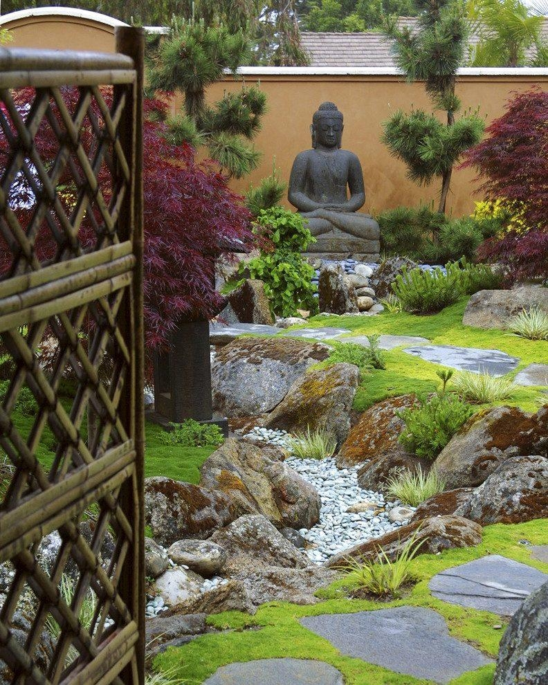 Buddha Garden Ideas Landscape Asian With Outdoor Wall Art Japanese In Buddha Outdoor Wall Art (View 14 of 20)