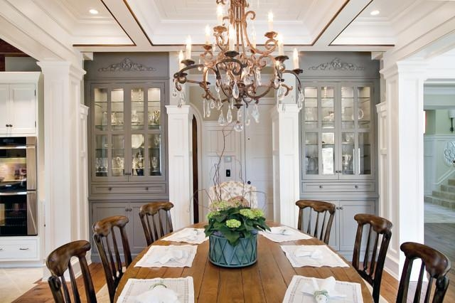 Built In Dining Room Cabinets | Houzz For Current Dining Room Cabinets (Image 9 of 20)