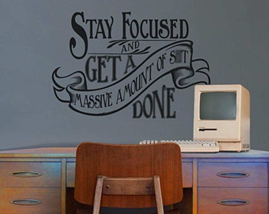 Business Office Wall Decals : Cool Office Wall Decals – Home Regarding Inspirational Wall Decals For Office (Image 7 of 20)