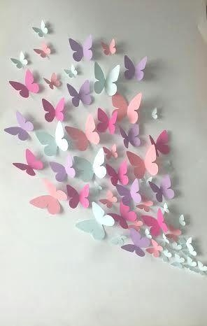 Butterfly Wall Art Site Image 3D Butterfly Wall Art – Home Decor Ideas With Regard To 3D Butterfly Framed Wall Art (Image 8 of 20)