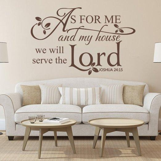 Buy As For Me And My House,we Will Serve The Lord (Image 11 of 20)