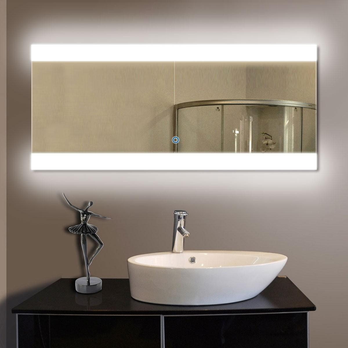 Buy Bathroom Led Lighted Mirrors, Backlit Mirrors | Decoraport Usa In Led Lighted Mirrors (Image 7 of 20)