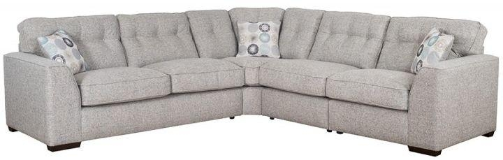 Buy Buoyant Kennedy Fabric Corner Sofa Online – Cfs Uk Throughout Corner Sofas (Image 4 of 20)