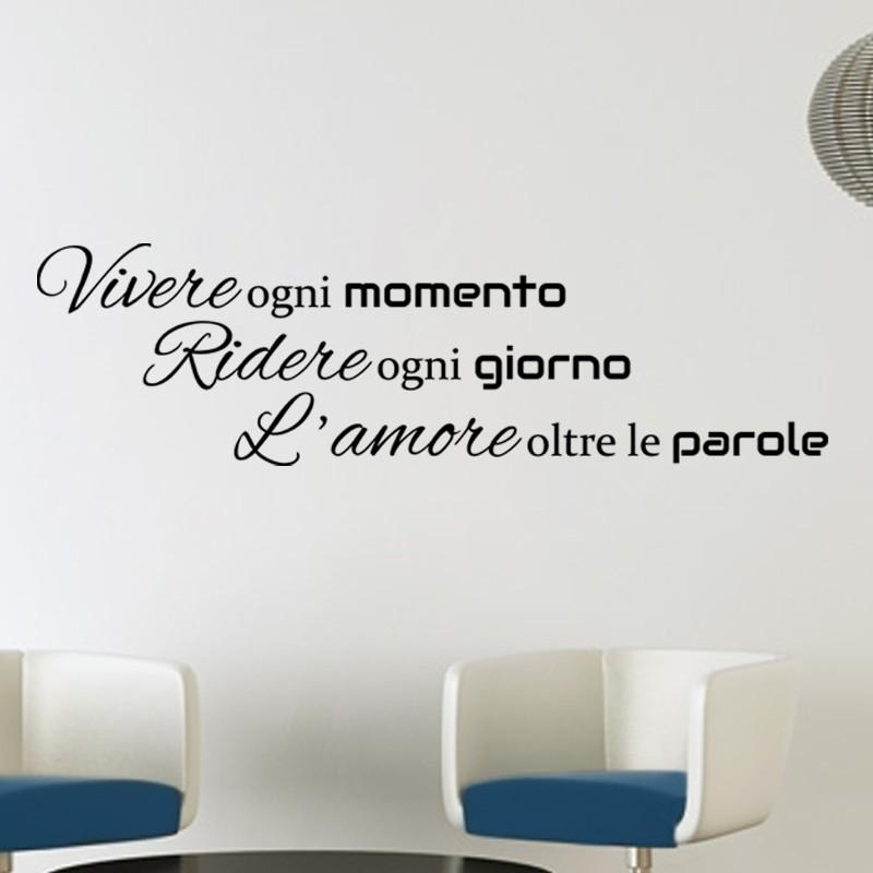 Buy Exclusive Range Of Italian Wall Quotes Art – Kcwalldecals With Regard To Italian Phrases Wall Art (View 19 of 20)