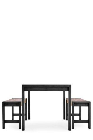 Buy Hudson Dining Table And Bench Set From The Next Uk Online Shop With Most Recently Released Next Hudson Dining Tables (Image 6 of 20)