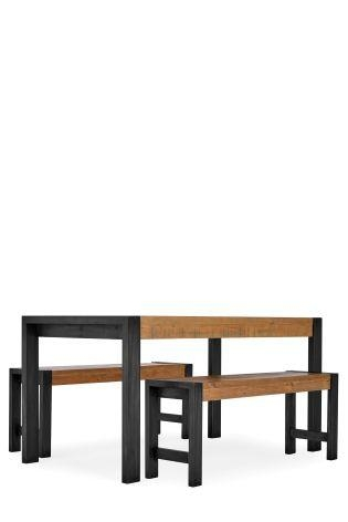 Buy Hudson Dining Table And Bench Set From The Next Uk Online Shop With Regard To Most Popular Next Hudson Dining Tables (Image 7 of 20)