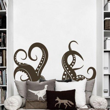 Buy Kraken Tentacles Wall Decal Animal Wall Sticker Tentacles Wall Regarding Octopus Tentacle Wall Art (Image 7 of 20)