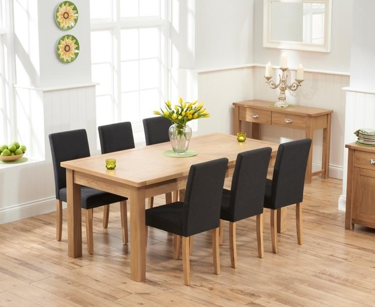 Buy Mark Harris Sandringham Solid Oak 180Cm Extending Dining Table With Regard To Current 180Cm Dining Tables (Image 6 of 20)