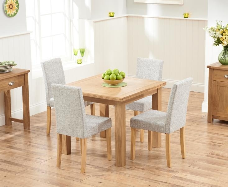 Buy Mark Harris Sandringham Solid Oak 90Cm Flip Top Extending With Regard To Oak Extending Dining Tables And 4 Chairs (View 8 of 20)