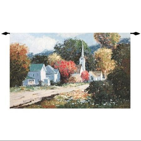 Buy Walk Back In Time Italian Village Cotton Wall Art Hanging Regarding Italian Village Wall Art (Image 8 of 20)