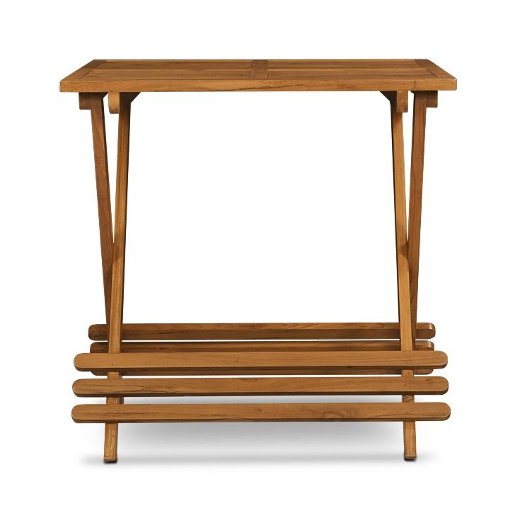 Buy Woodofa Folding Dining Teak Wood Furniture Table In Delhi Within Most Recently Released Buy Dining Tables (Image 6 of 20)