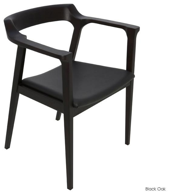 Caitlan Dining Armchair – Contemporary – Dining Chairs Inmod In Current Black Dining Chairs (View 10 of 20)
