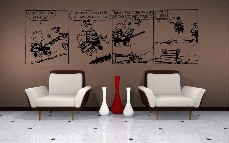 Calvin And Hobbes | Do You Believe In Fate? – Stickyedge In Calvin And Hobbes Wall Art (Image 12 of 20)