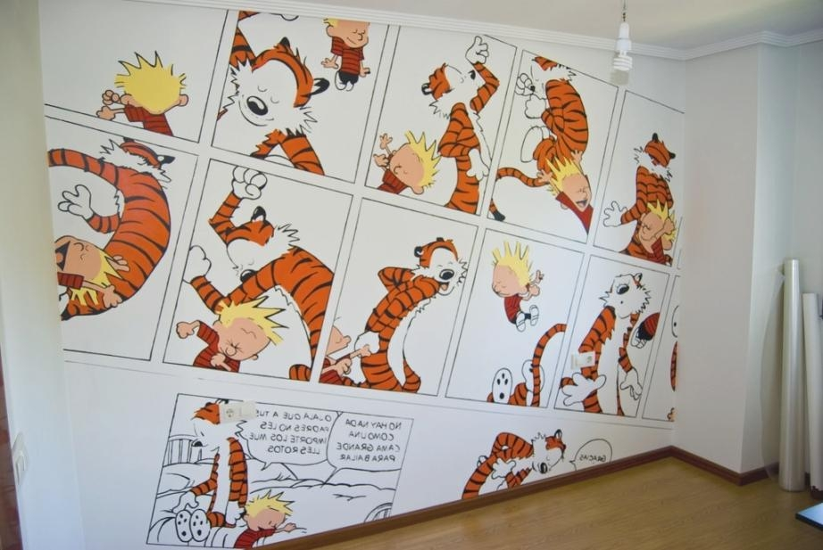 Calvin And Hobbes Wall Art – Makipera In Calvin And Hobbes Wall Within Calvin And Hobbes Wall Art (View 13 of 20)