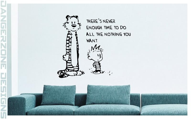 Calvin And Hobbes | Wall Artdangerzonedesigns On Deviantart In Calvin And Hobbes Wall Art (Image 13 of 20)