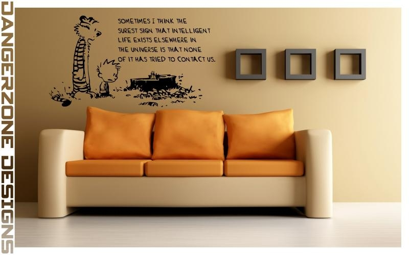 Calvin And Hobbes | Wall Artdangerzonedesigns On Deviantart Pertaining To Calvin And Hobbes Wall Art (Image 14 of 20)