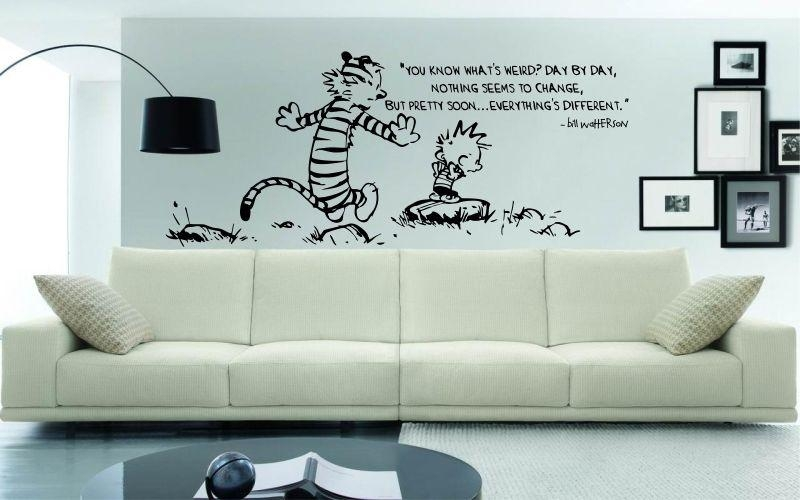 Calvin And Hobbes | You Know What's Weird? Dayday, Nothing Within Calvin And Hobbes Wall Art (Image 15 of 20)