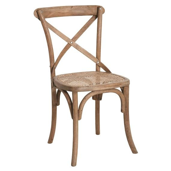 Camargue Weathered Oak Dining Chair – Oka For 2017 Oak Dining Chairs (View 3 of 20)