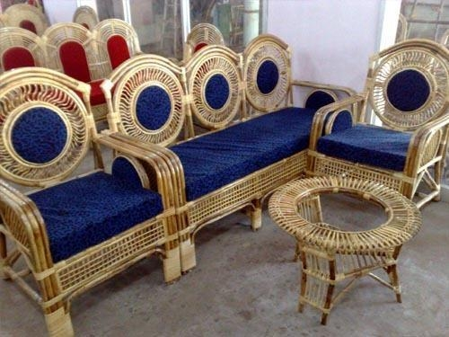 Cane Sofa And Sofa Set Manufacturer From Howrah With Regard To Ken Sofa Sets (Image 11 of 20)