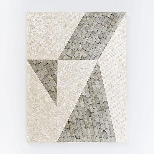 Capiz Wall Art – Angle | West Elm Inside Capiz Wall Art (Image 5 of 20)