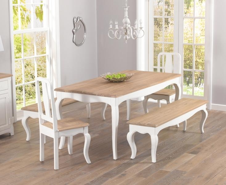 Captivating Shabby Chic Dining Chairs With Buy Mark Harris Sienna Pertaining To 2018 Shabby Chic Dining Sets (Image 9 of 20)