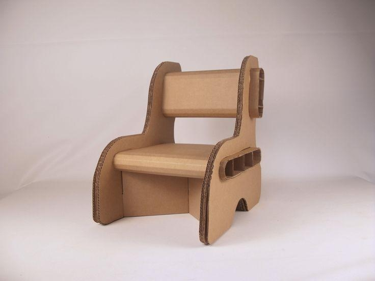 Cardboard Chair Template – Google Search | Cool Designs Intended For Cardboard Sofas (Image 13 of 20)