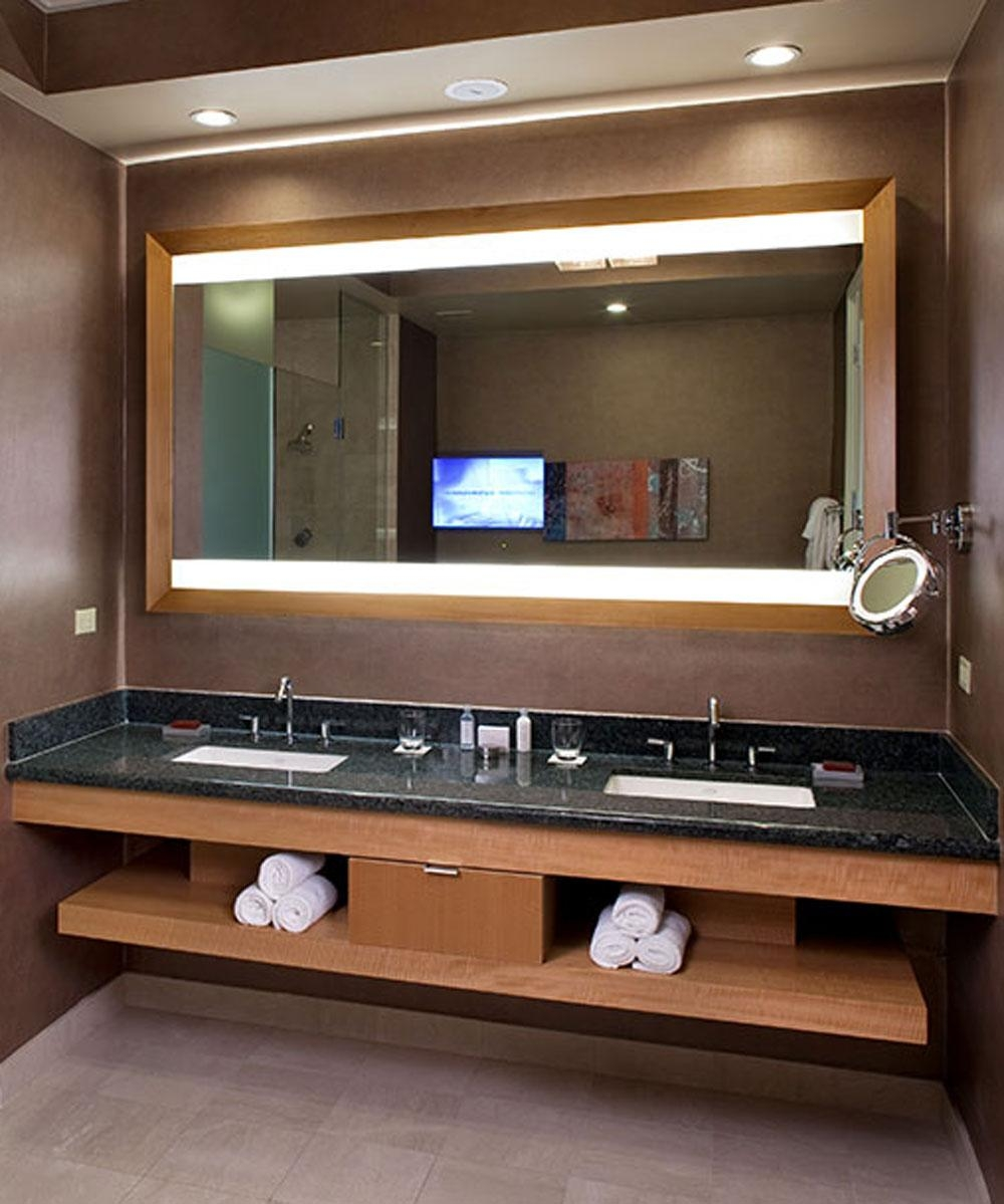 Celebration Lighted Mirror Tv – Hidden Led Hdtv In Las Vegas Mirrors (Image 8 of 20)