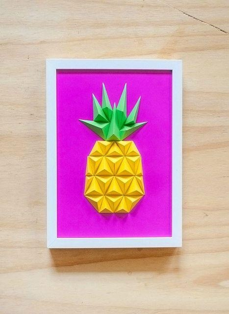 25 Origami Wall Art Pinterest Within Diy