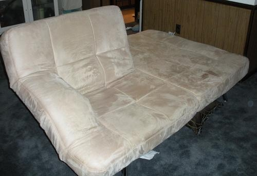 Chai Microsuede Sofa Bed – Sold | Dimensions: 6' Long X 3 Fe… | Flickr With Regard To Chai Microsuede Sofa Beds (Image 5 of 11)