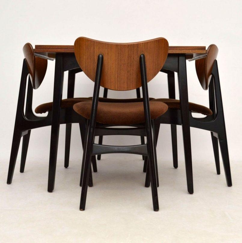 Chair G Plan Butterfly Chairs Retro Dining Suite For Sale London Inside 2017 Ebay Dining Suites (Image 12 of 20)