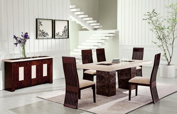 Chairs: Amazing Dining Room Chairs Upholstered Dining Room Tables Pertaining To 2018 Marble Dining Chairs (View 13 of 20)
