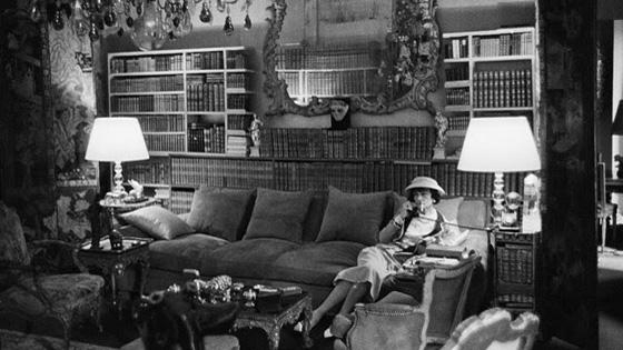 Chanel Receiving The Rothschildsvb Regarding Coco Chanel Sofas (Image 7 of 20)