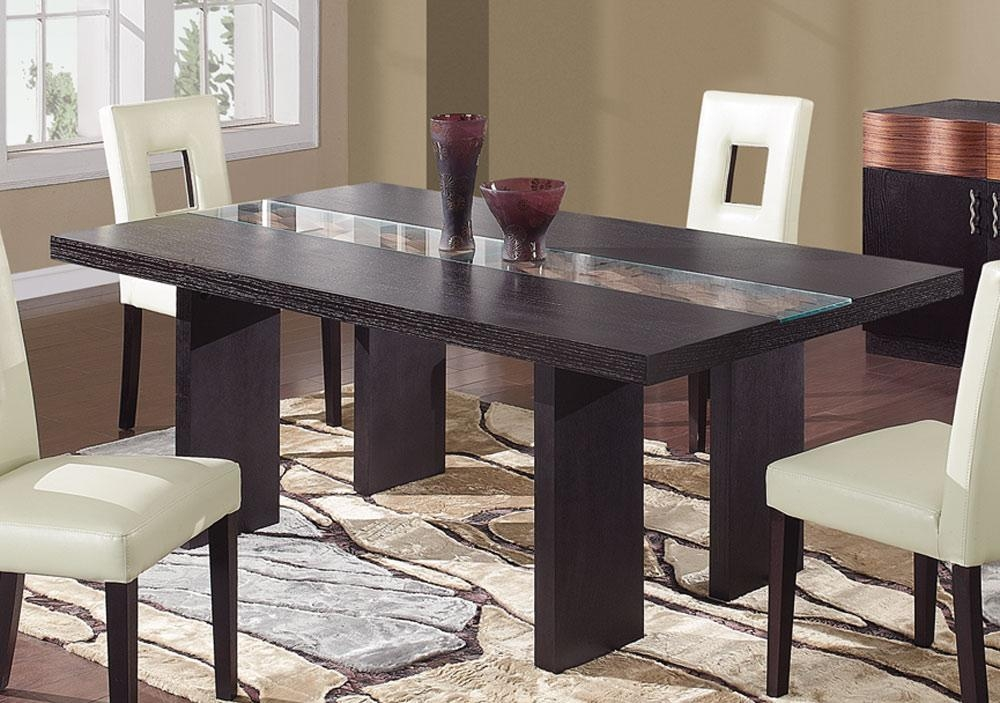 Changing The Color Of Dark Wood Dining Table | Boundless Table Ideas Intended For Most Current Dark Dining Tables (Image 7 of 20)