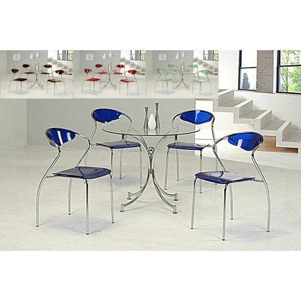 Charming Glass Dining Table And Chairs Set Dining Table 4 Chairs Inside Newest Cheap Glass Dining Tables And 4 Chairs (Image 5 of 20)