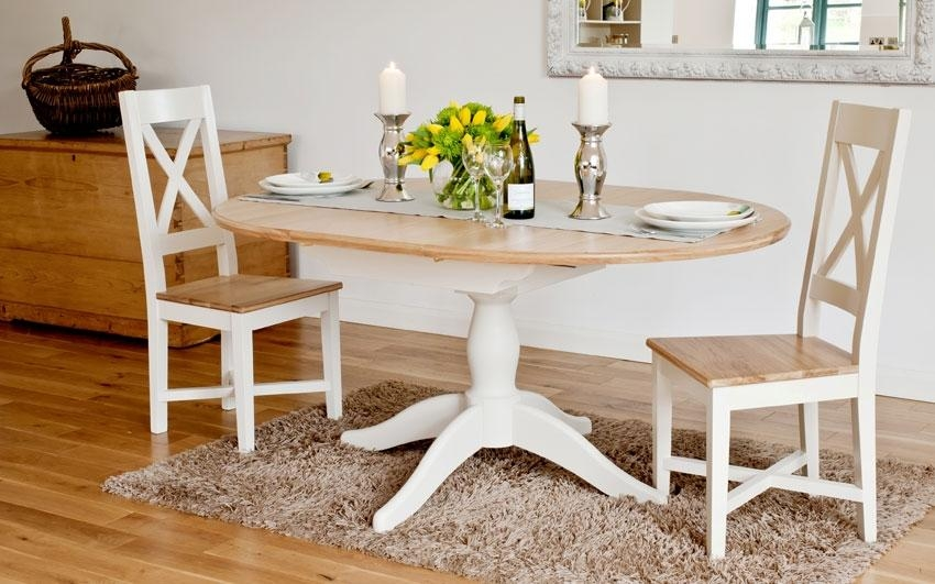 Charming Round Oak Extendable Dining Table And Chairs 44 About Intended For Latest Round Oak Extendable Dining Tables And Chairs (Image 5 of 20)